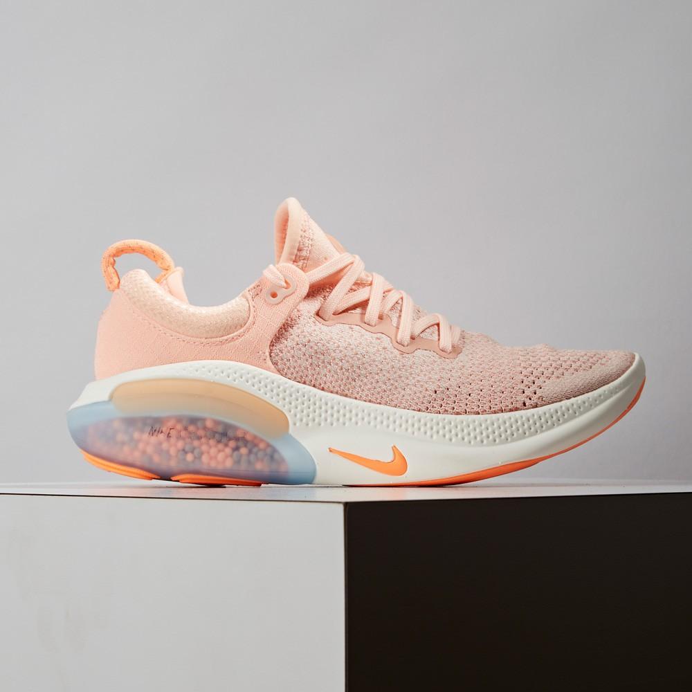 Nike Joyride Run FK 女鞋 橘粉 緩震 顆粒 編織 慢跑鞋 AQ2731601