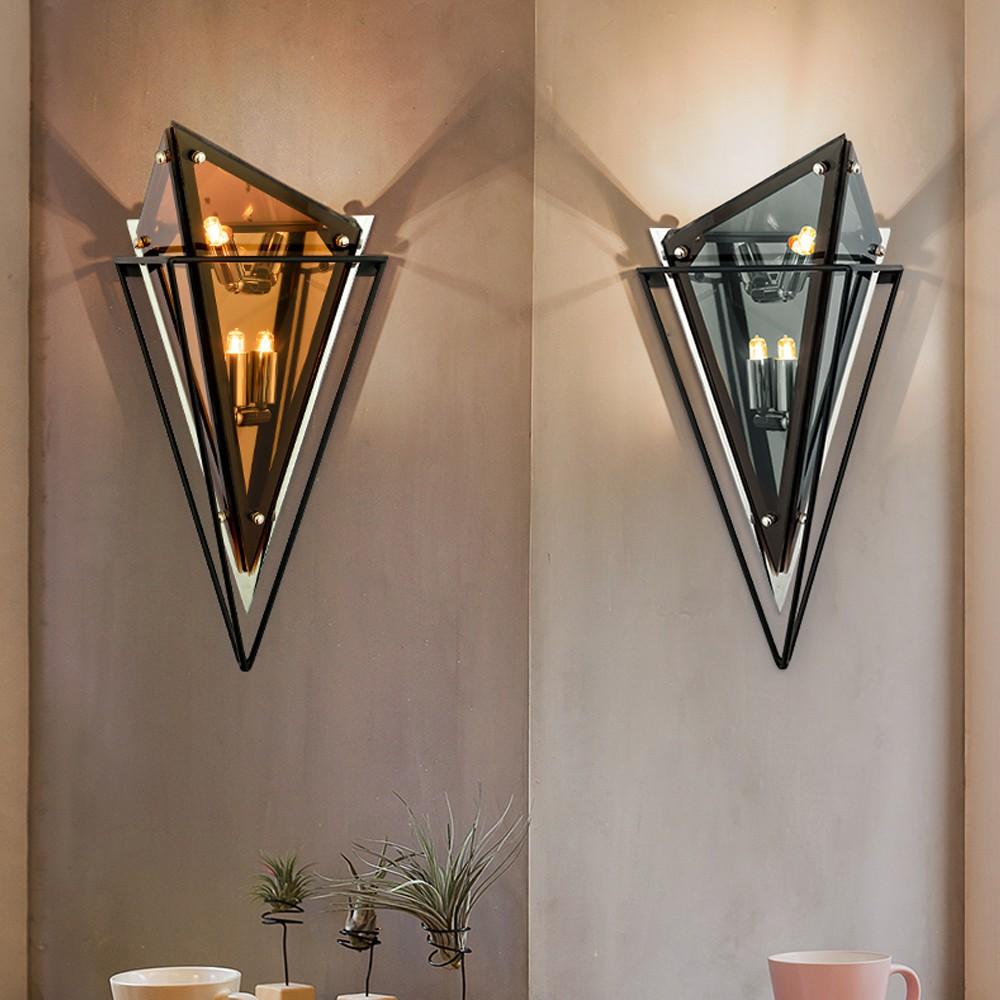 H&R安室家 玻璃立方壁燈