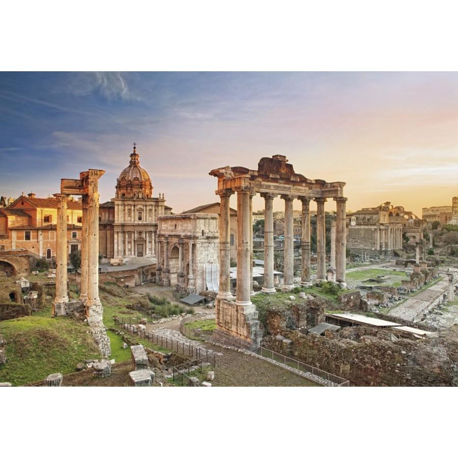 Clementoni 羅馬廣場 2000P 拼圖總動員 風景 義大利進口
