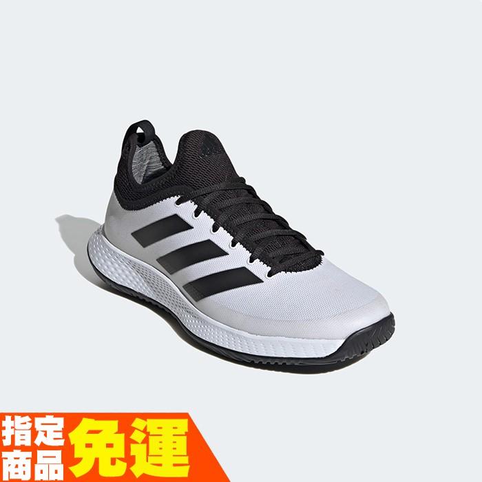 ADIDAS 網球鞋 運動鞋 DEFIANT GENERATION FX5809 白 贈護腕 20FW【樂買網】