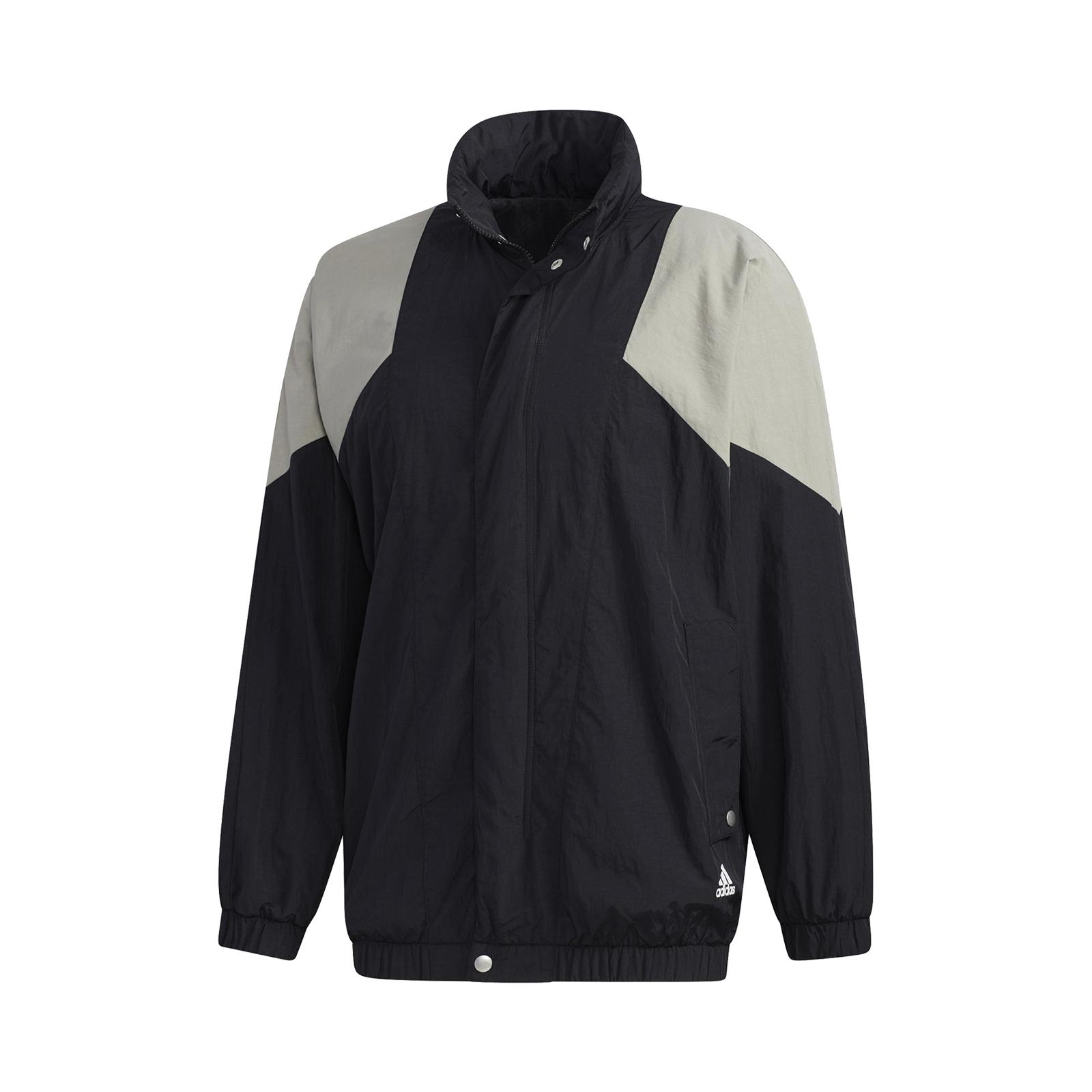 Adidas 外套 Must Haves Woven Jackets 黑 灰 男款 風衣 愛迪達【ACS】 GE0386