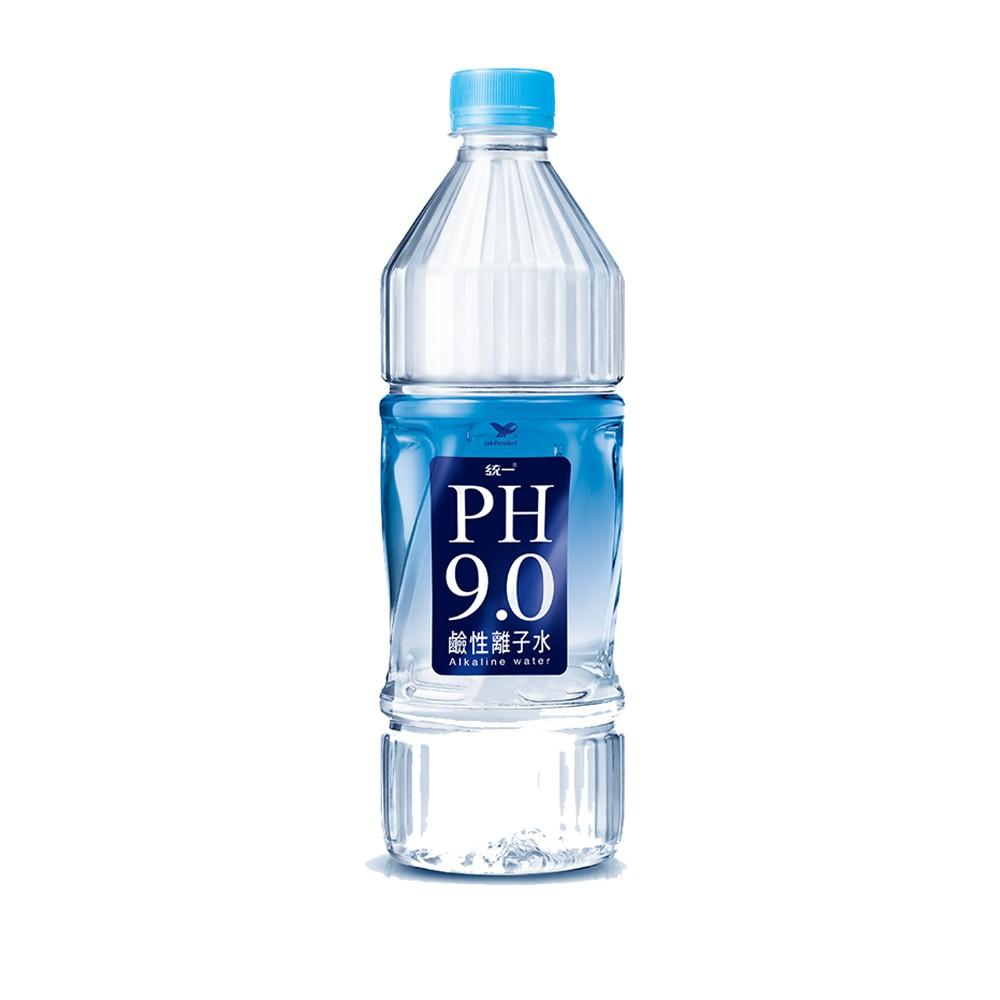 統一PH9.0 鹼性離子水 800mlx20瓶/箱