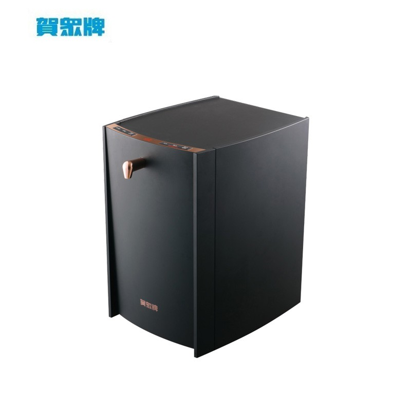 賀眾牌 INSTA UVC LED 超效瞬淨冷熱桌上型飲水機 UV-6702EBK-1 粉霧黑