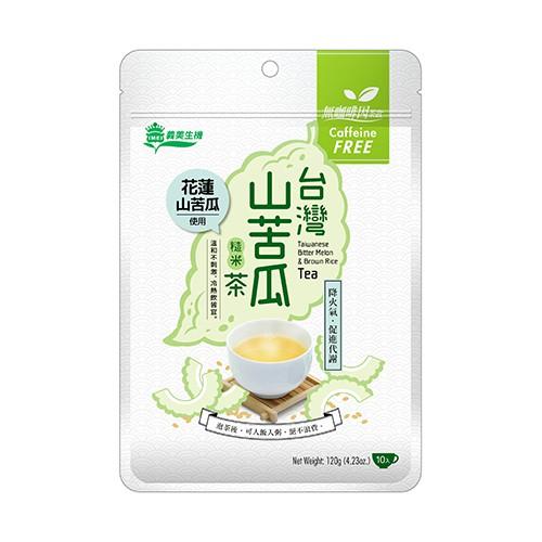 義美生機台灣山苦瓜糙米茶12g*10入【寶雅】