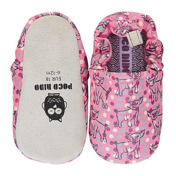 英國POCONIDO 手工鞋|嬰兒鞋|學步鞋-小豬寶寶-甜心粉(6~24M)【麗兒采家】