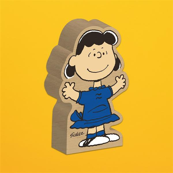MAGPIE Peanuts Block Figure/ Lucy Van Pelt eslite誠品