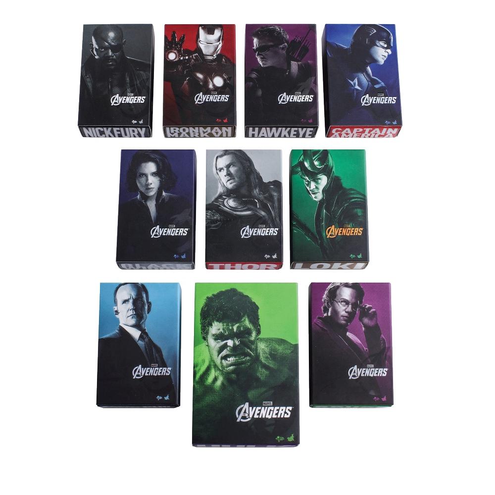 【套裝組】復仇者聯盟 盒繪造型磁鐵