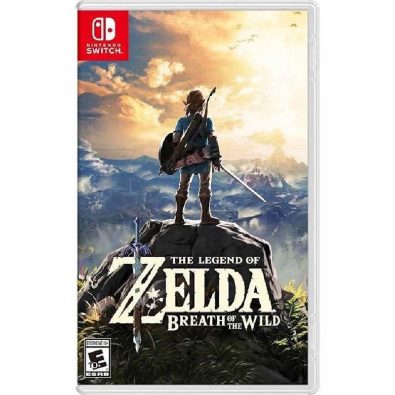 Nintendo 任天堂 Switch 薩爾達傳說: 曠野之息(國際版)免運直送 廠商直送 現貨
