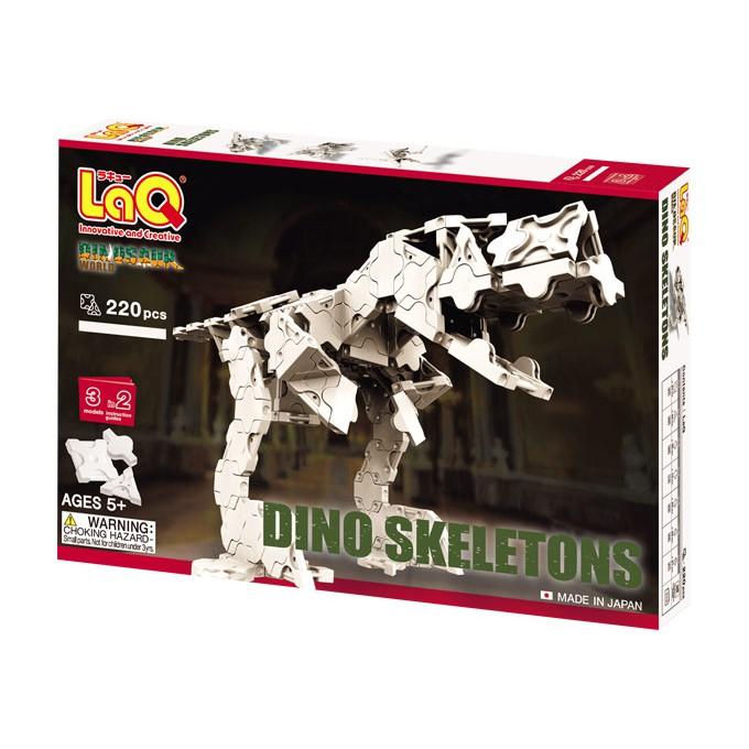 【LaQ】呵比考古龍 (220pcs) 日本製造立體3D拼接積木/益智玩具/台灣獨家代理