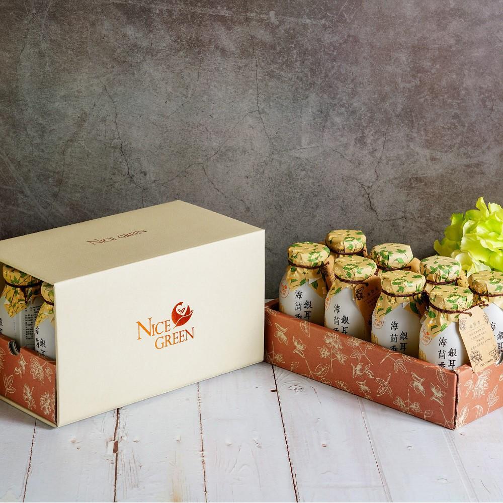 NICE GREEn 海茴香銀耳露禮盒 養身飲品 伴手禮 禮盒 美蔬菜 蝦皮團購