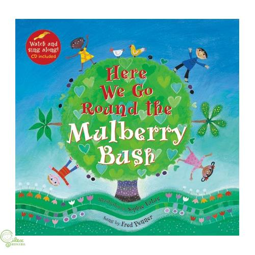 Here We Go Round the Mulberry Bush (1平裝+1影音CD)【禮筑外文書店】[75折]