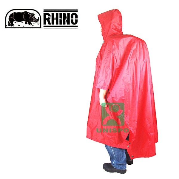 Rhino 犀牛 S-2 雪巴登山斗篷 地布 外帳 三合一 灰色 S 戶外披風雨衣/戶外機能雨衣《台南悠活運動家》