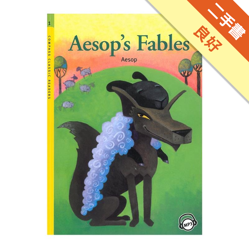 CCR1:Aesop's Fables (with MP3) [二手書_良好] 5169