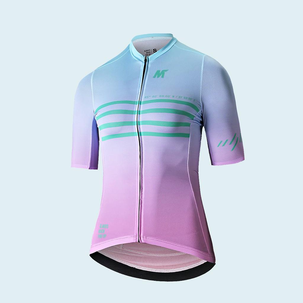 【VM.Plus】MSL凌雲短車衣-藍粉(女) 短車衣 女款 自行車車衣 騎行服