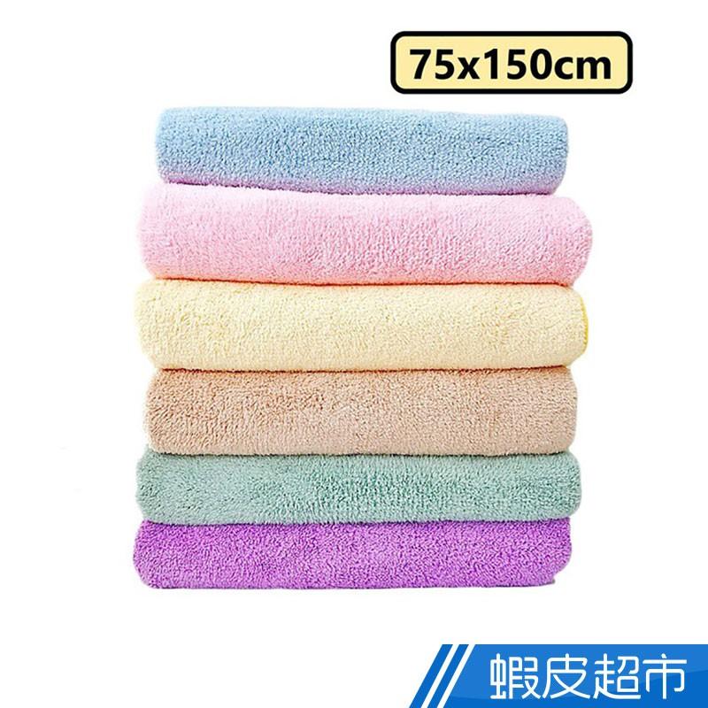OKPOLO 長毛絨浴巾 75x150cm 多色可選 免運 廠商直送 現貨