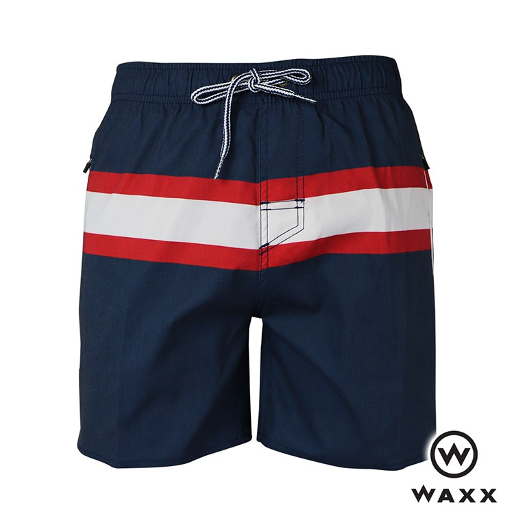 【WAXX】巴貝多快乾型男海灘褲(海藍色)(15英吋)201WA-MB305103