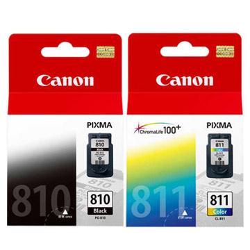 CANON PG-810+CL-811 原廠墨水組合(1黑+1彩)