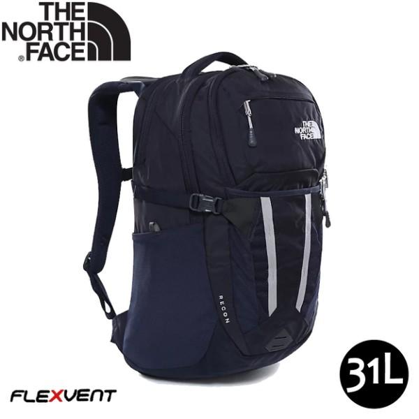 【The North Face 31L Recom 後背包《深藍》】3KV1/多功能後背包/電腦書包/可容15吋筆電