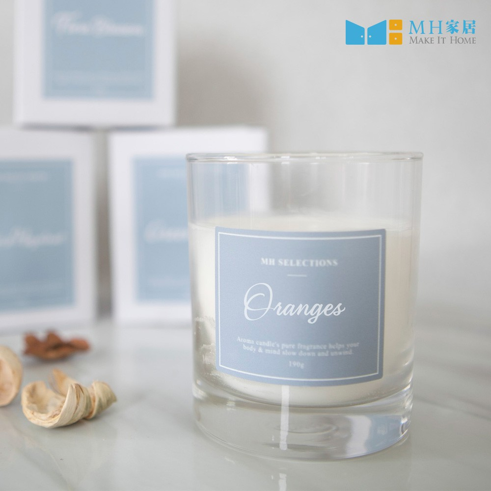 MH家居 諾琳海洋柑橘香氛蠟燭 禮物首選 香氛蠟燭 蠟燭 [現貨]