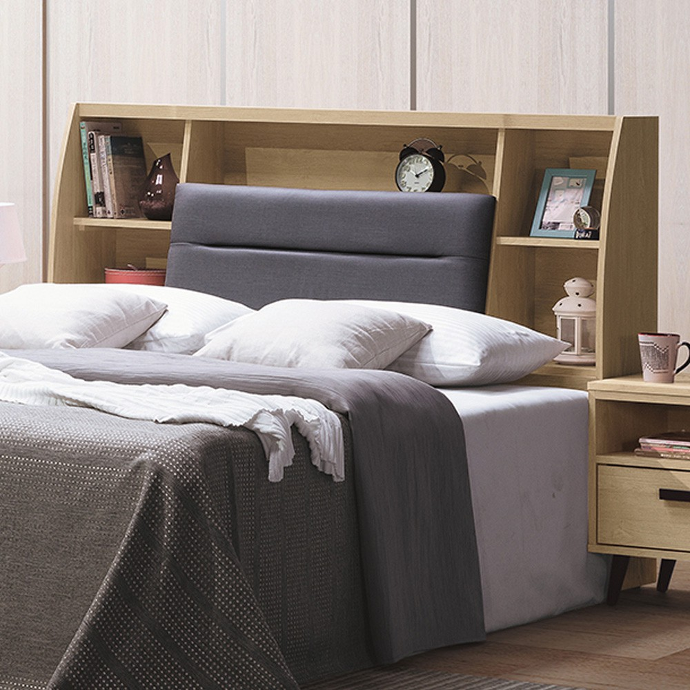 Boden-肯司5尺雙人床頭箱