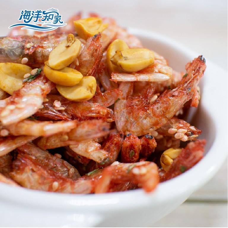 【海洋知家】花生蔥燒中蝦酥 90g 包裝升級 魚之本舖系列