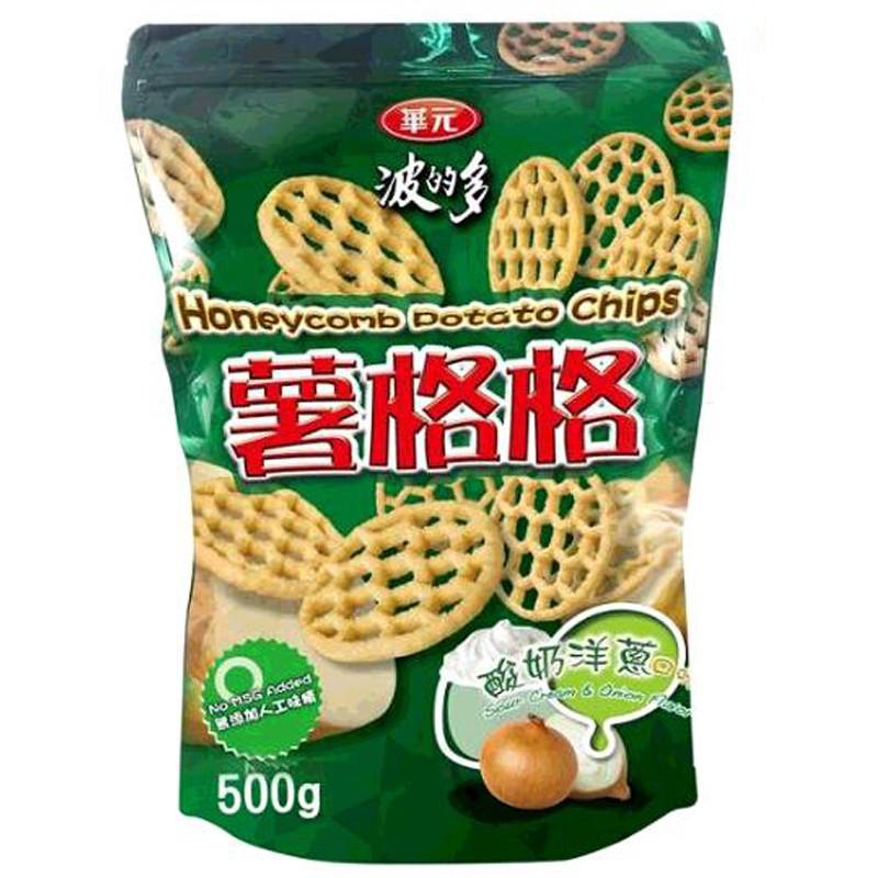 華元波的多薯格格酸奶洋蔥口味 450公克 C117731 [COSCO代購,單筆限二包]