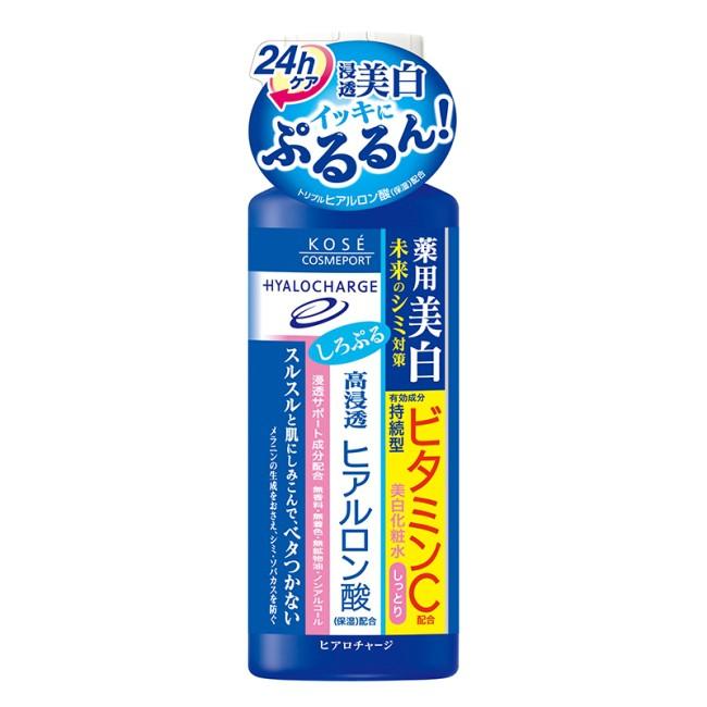 KOSE 玻尿酸透潤美白化粧水潤澤180ml