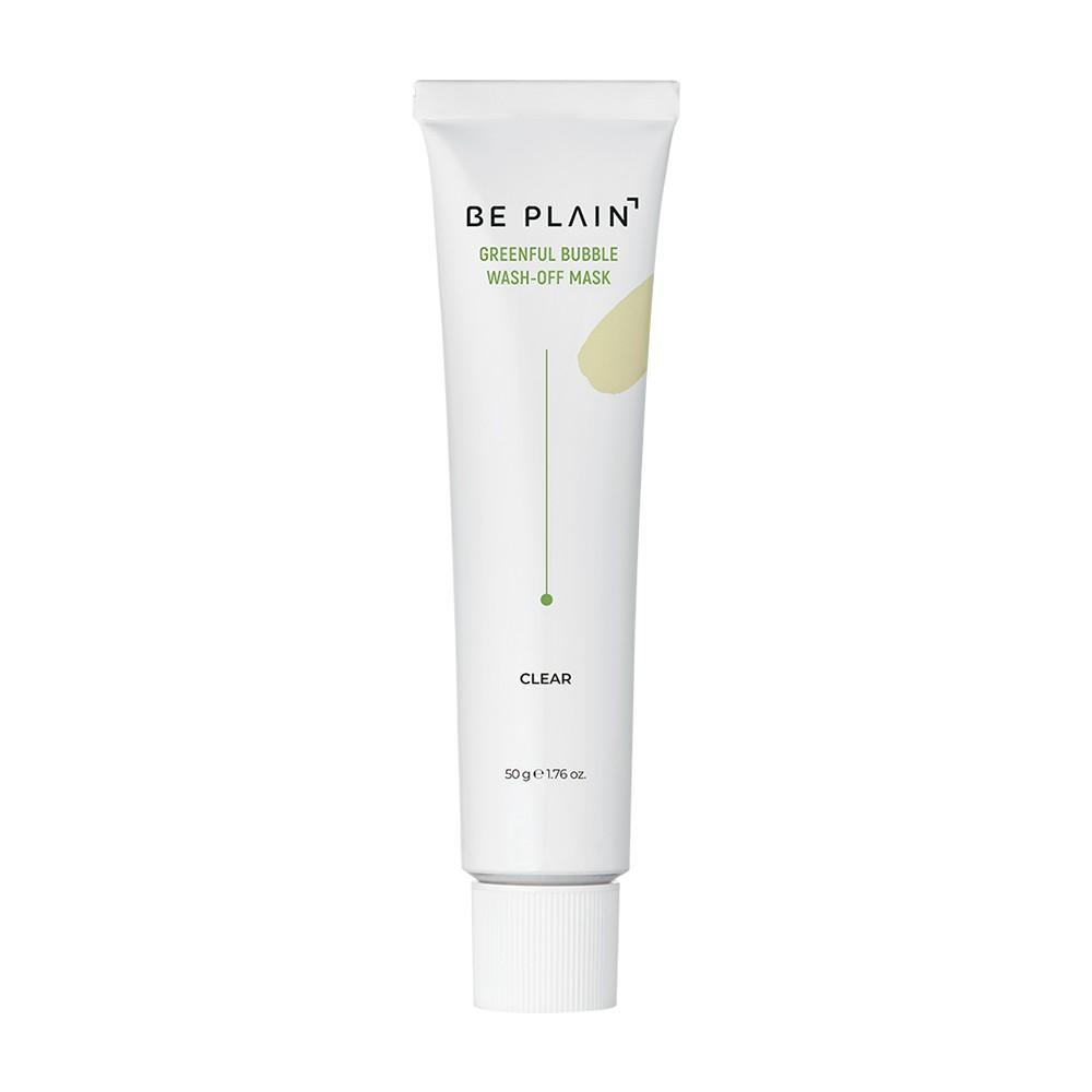 [BE PLAIN] 綠豆泡泡水洗面膜 (50g)