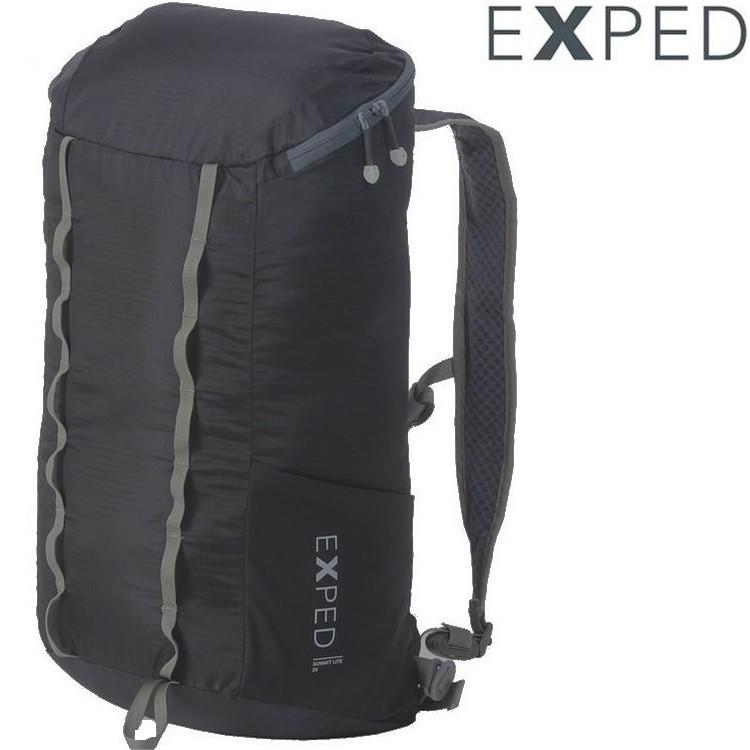 Exped Summit Lite 25 輕量可收折防潑水背包/攻頂包 25L 76894 黑色
