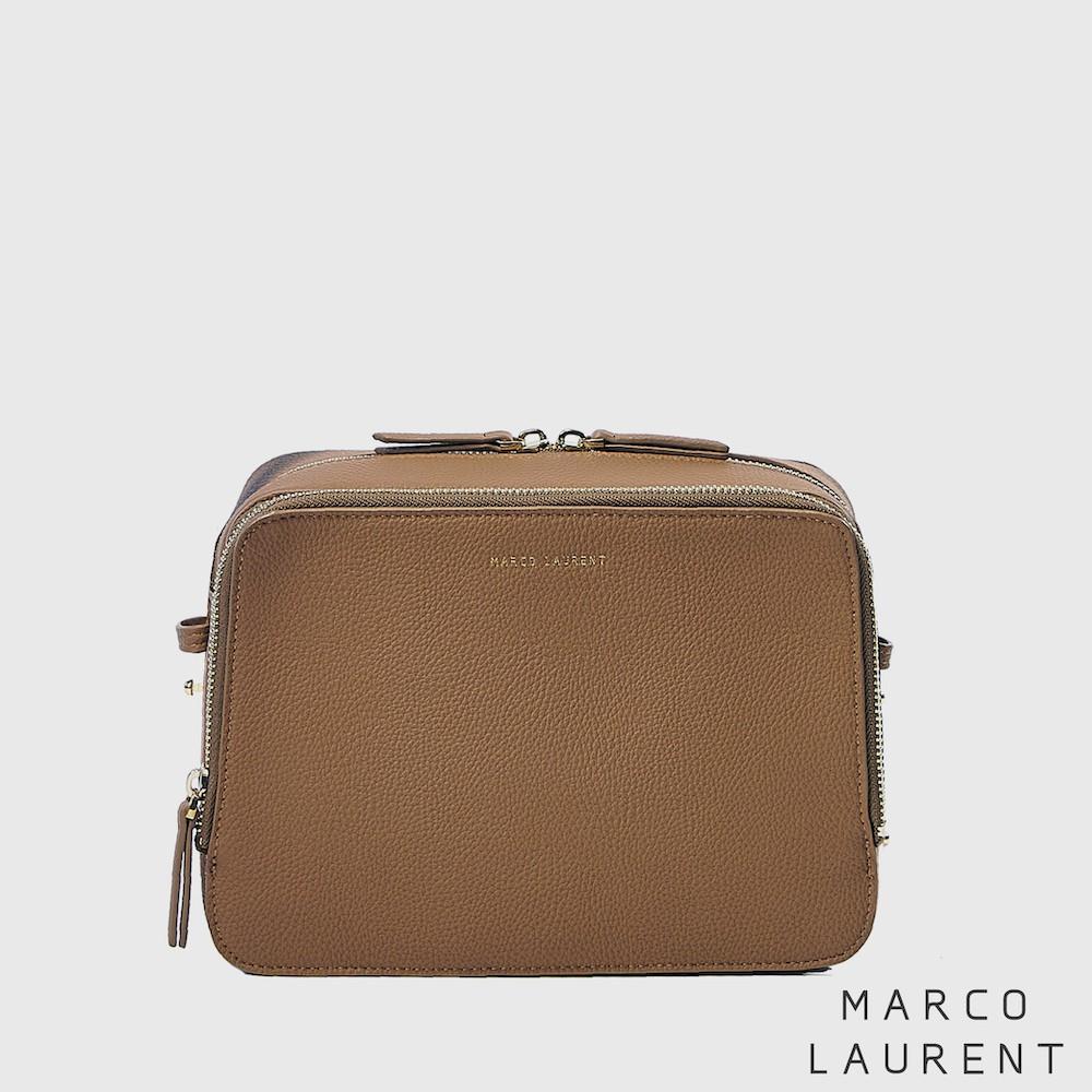 MARCO LAURENT - Blink 雙層肩背方包 棕色