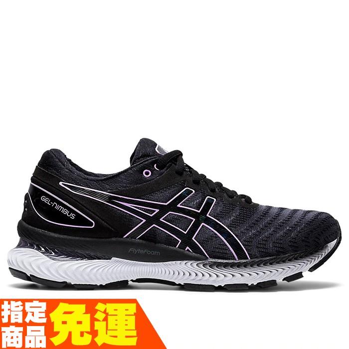 ASICS GEL-NIMBUS 22 緩衝型 女慢跑鞋 1012A587-004 贈1襪 20FW