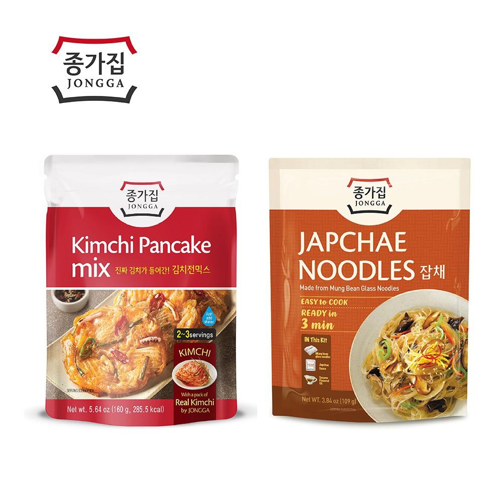 宗家府-泡菜煎餅160g / 韓式冬粉109g
