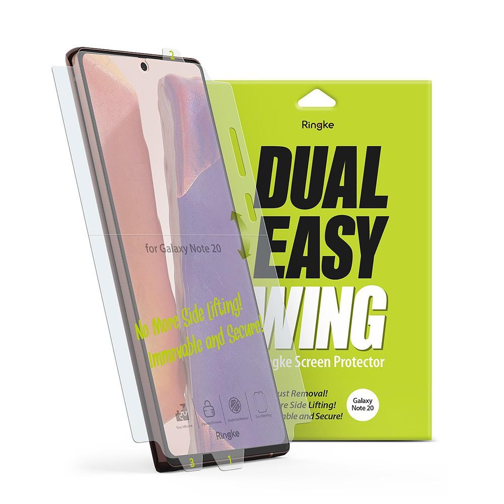 Rearth Ringke 三星 Galaxy Note 20 滿版抗衝擊螢幕保護貼(兩片裝)
