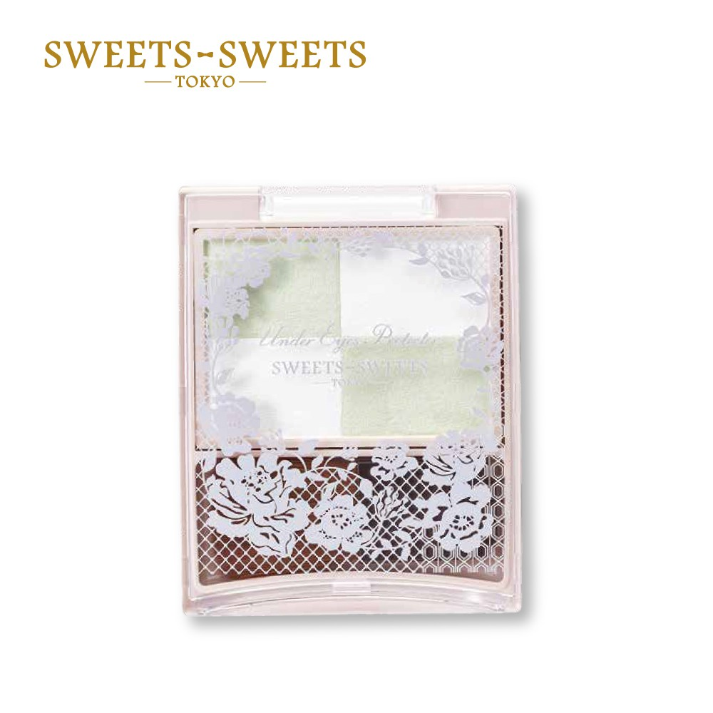 SWEETS SWEETS 下眼影完美定妝蜜粉 01薄荷綠