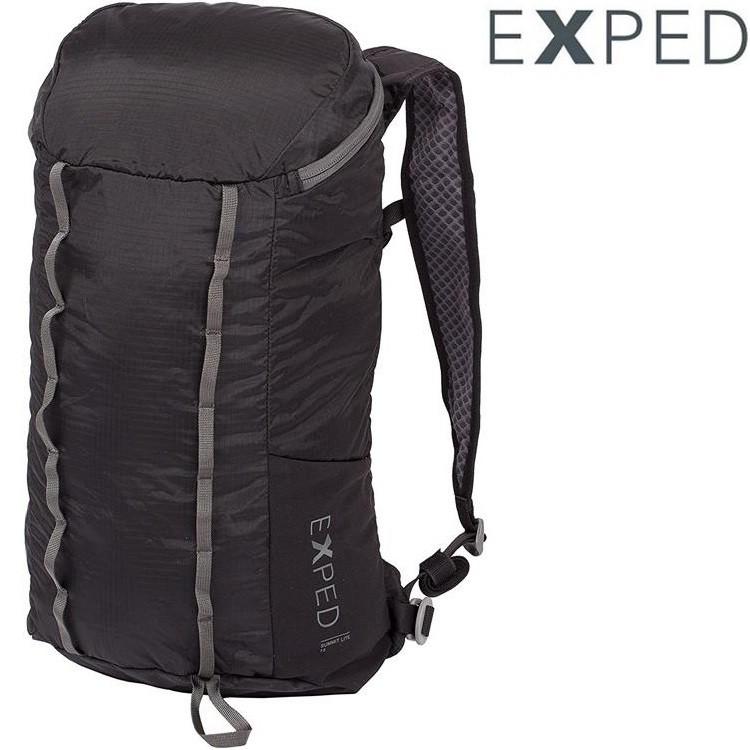 Exped Summit Lite 15 輕量可收折防潑水背包/攻頂包 15L 76888 黑