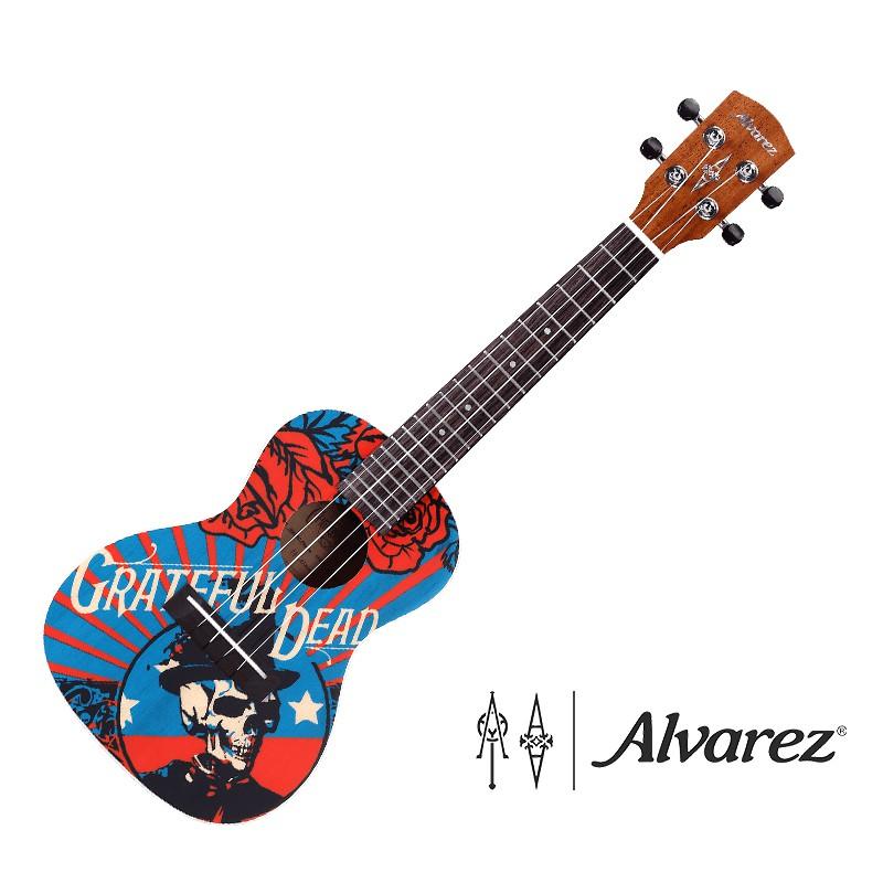 Alvarez GDU26C Filmore Grateful Dead 聯名 23吋 烏克麗麗 - 【他,在旅行】
