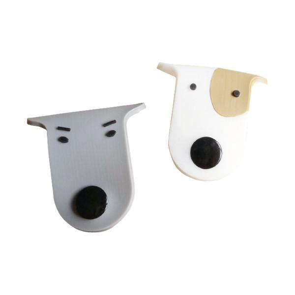 7731 韓國dog鈕扣狗狗扣式集線器 捲線器 繞線器 收線器 收納耳機線