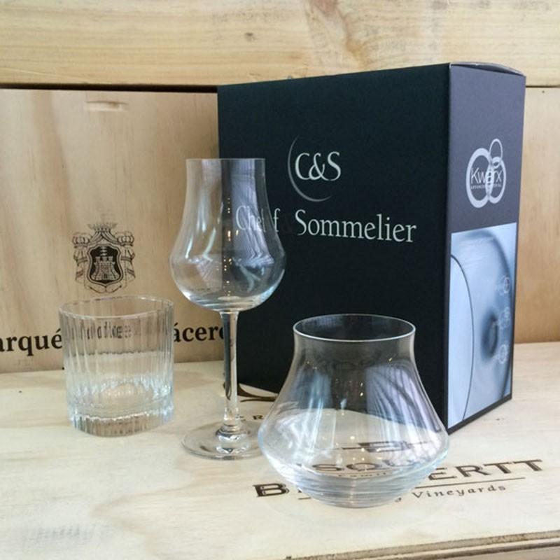 Chef & Sommelier / OPEN UP系列 / 威士忌聞香杯組(烈酒杯+陳年烈酒杯+贈小威士忌杯一只)