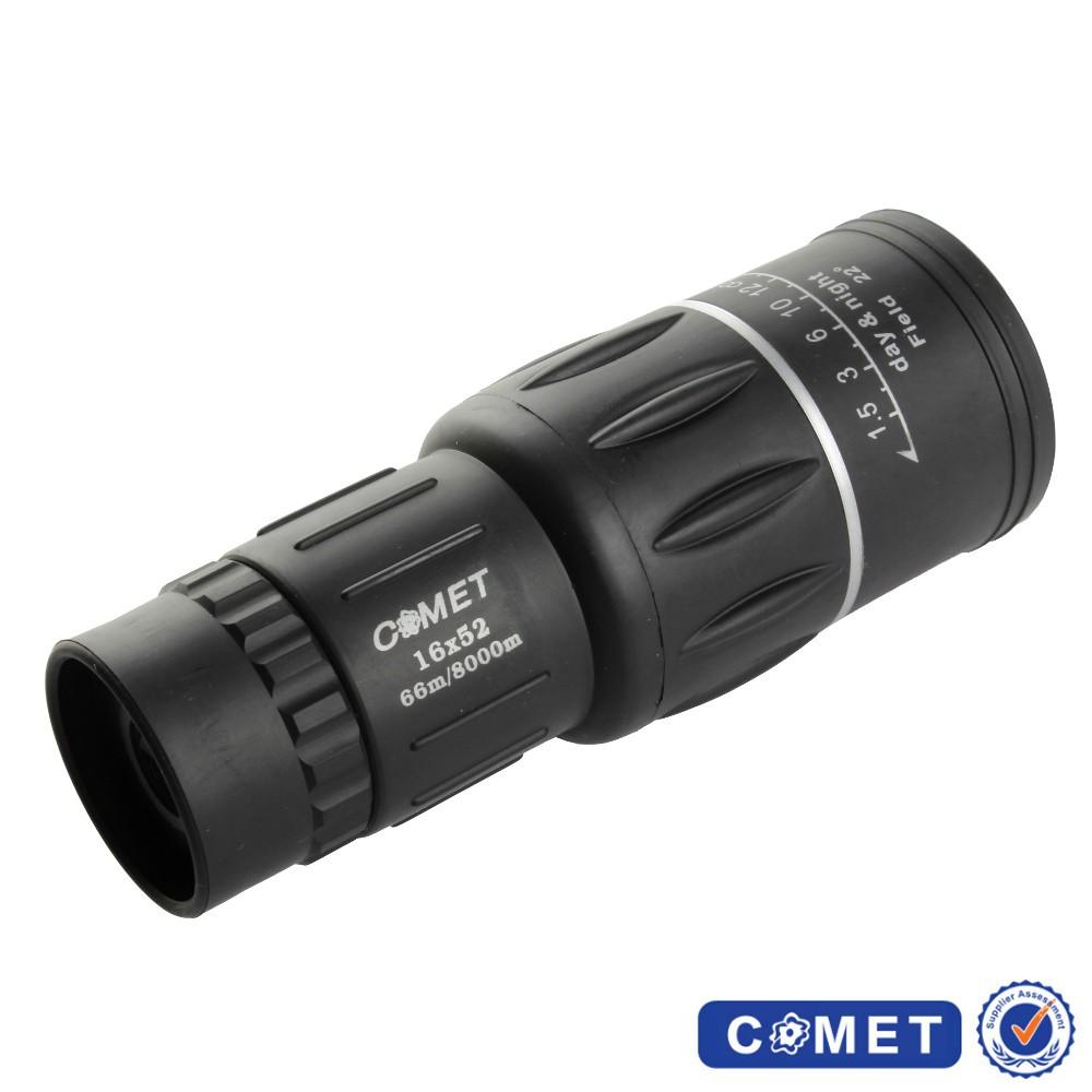 【COMET】酷炫黑16x52單筒望遠鏡(16x52)