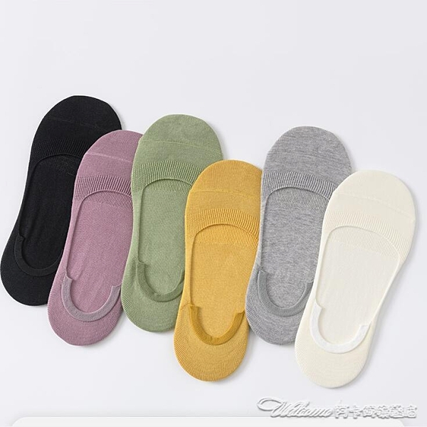 短襪襪子女士船襪純棉夏天薄款矽膠防滑夏季短襪防臭吸汗淺口隱形襪 阿卡娜