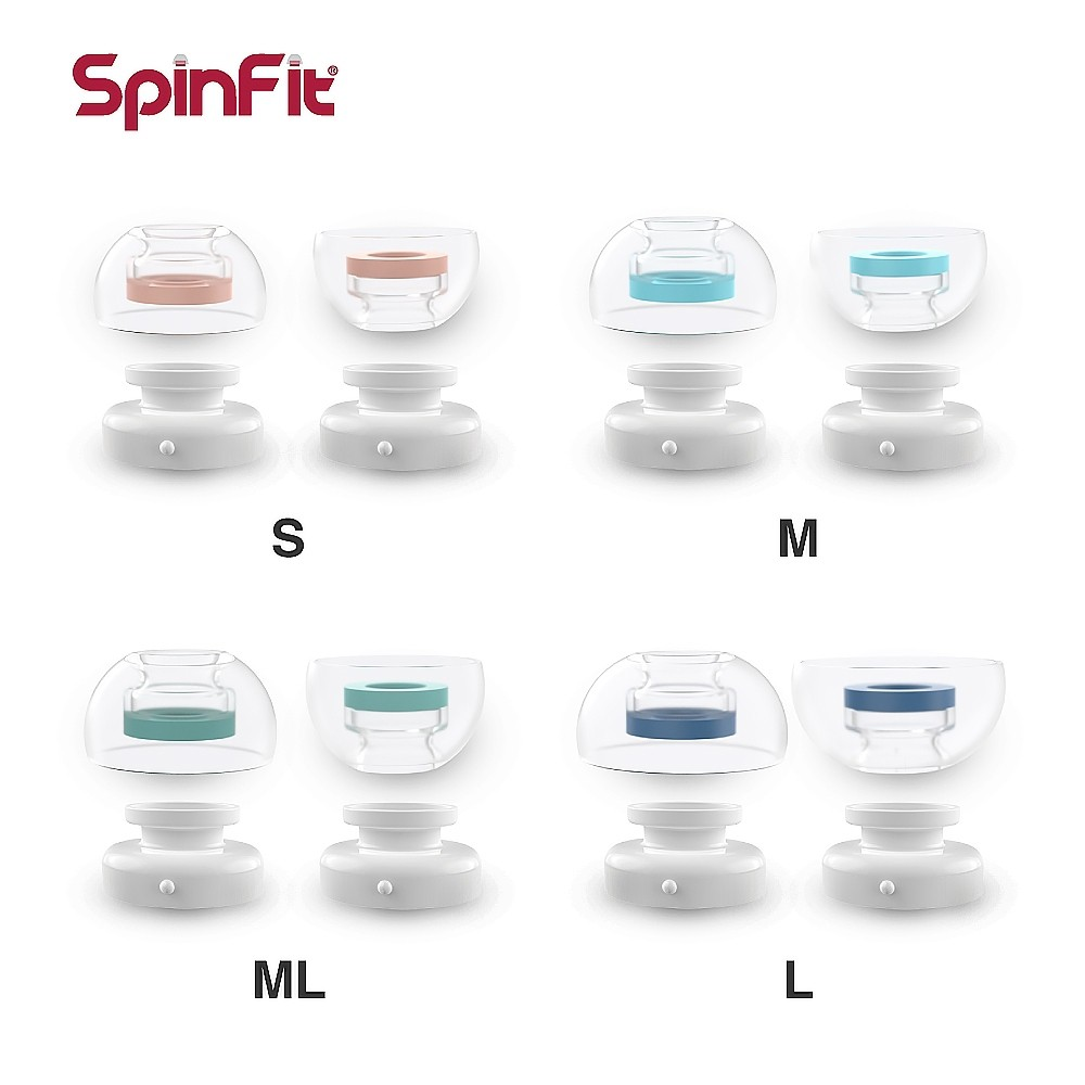 SpinFit 專利矽膠耳塞 CP1025 Apple Airpods Pro 專用款