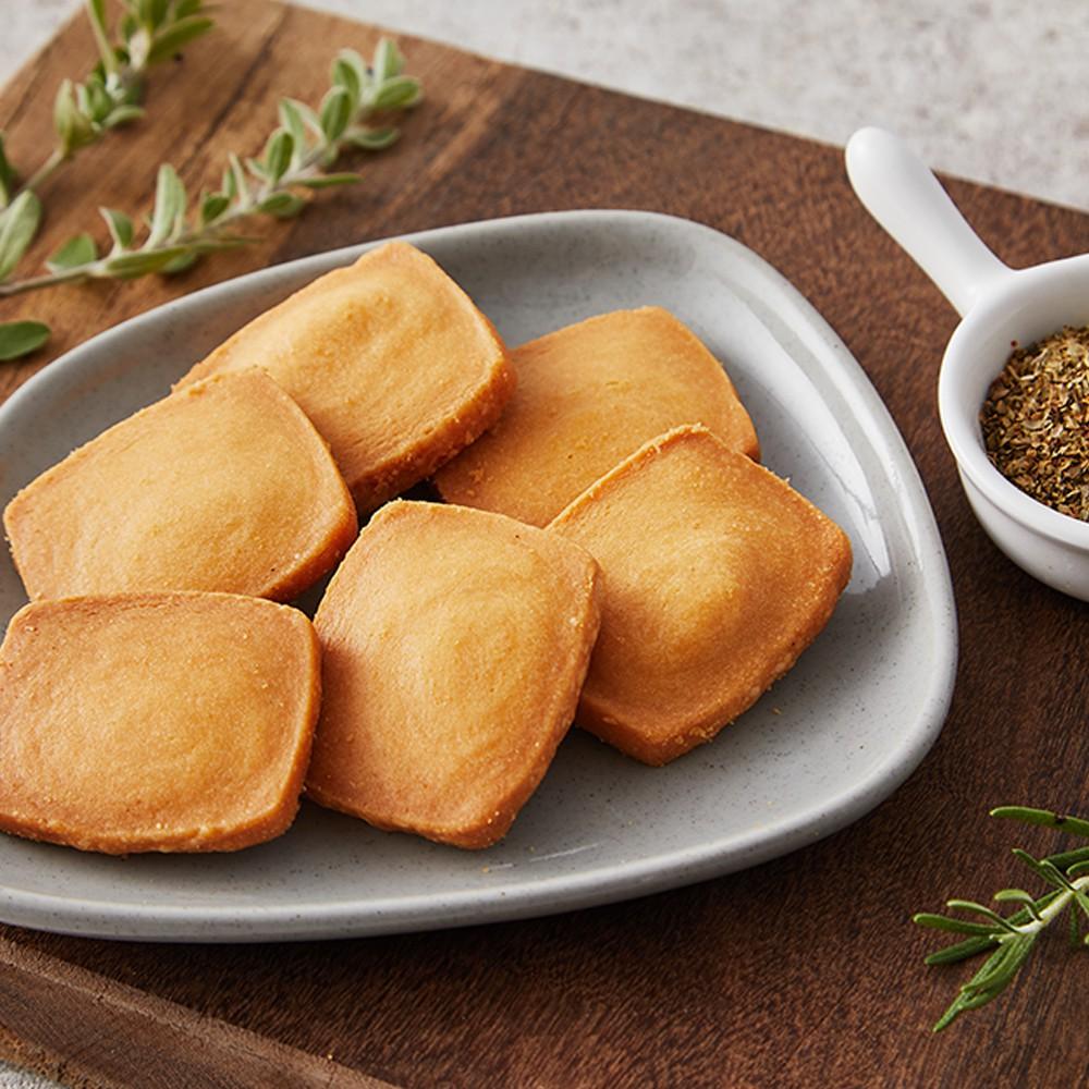 【艾薇手工坊】奶油餅乾-義式披薩餅乾 90g(袋裝)