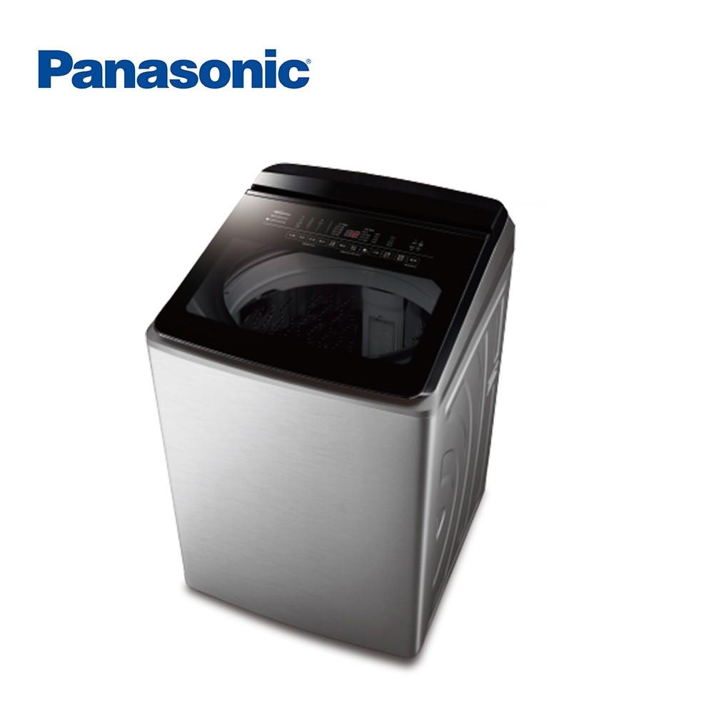 【PANASONIC 國際】19公斤 變頻直立式溫水洗衣機 洗劑自動投入 NA-V190KBS