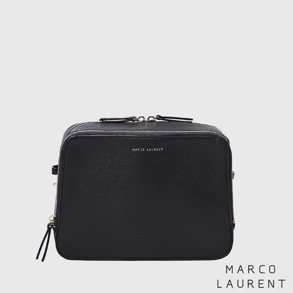 MARCO LAURENT - Blink 雙層肩背方包 黑色