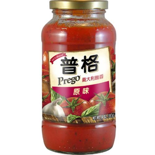 美國Prego 義大利麵醬-原味(680g/瓶)[大買家]
