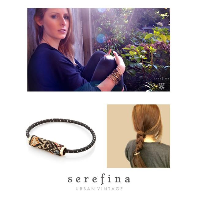 SEREFINA 編織造型髮圈