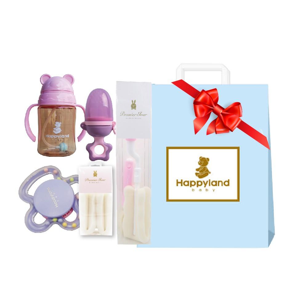 【朴蜜兒】韓國 熱銷寶寶用品組合新生兒彌月禮-小公主(彌月禮 新生禮 女寶 滿月禮 嬰兒滿月禮)