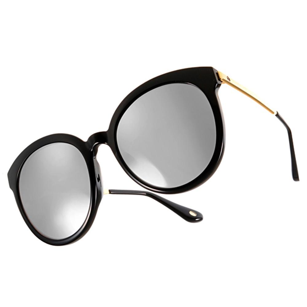 Go-Getter太陽眼鏡 GS4002 C02 韓版大圓框貓眼款 - 金橘眼鏡