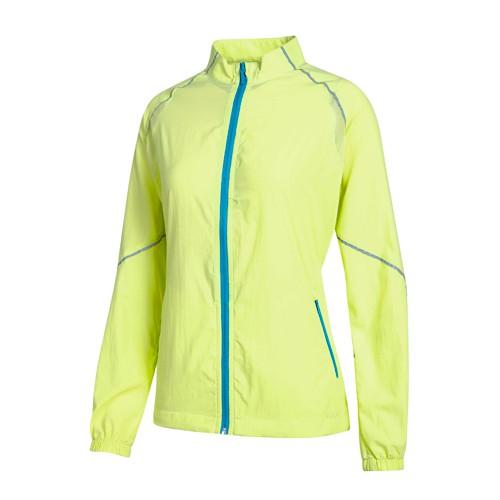 瑞多仕 DH-2064 女40丹抗UV微皺夾克(反光透氣) 淺黃色 戶外休閒