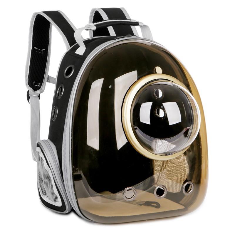 新上架-貓包太空艙寵物貓背包透明外出貓咪便攜包貓用品箱貓書包狗雙肩包